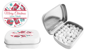 Gifts Of Christmas Christmas Personalised Mint Tin