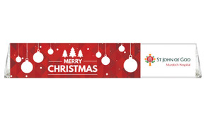 Corporate Personalised Christmas Toblerone Bar
