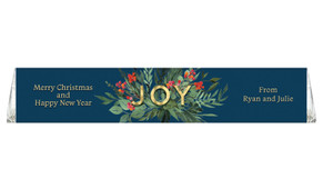Joy Personalised Christmas Toblerone Bar