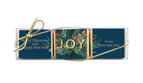 Joy Christmas Mini Chocolate Trio Favour