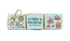 Sloth Christmas Mini Chocolate Trio Favour