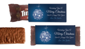 Blue Ornament Individual TimTam TM (Box Of 150)