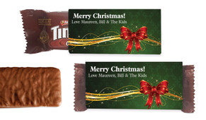 Christmas Bow Individual TimTam TM (Box Of 150)
