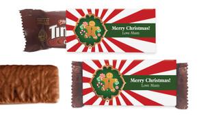Gingerbread Man Individual TimTam TM (Box Of 150)