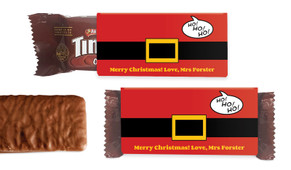 Santa Belt Individual TimTam TM (Box Of 150)