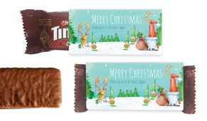 A Watercolour Christmas Individual TimTam TM (Box Of 150)