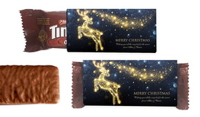 Glowing Reindeer Individual TimTam TM (Box Of 150)