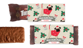 Bah Hum Pug Individual TimTam TM (Box Of 150)