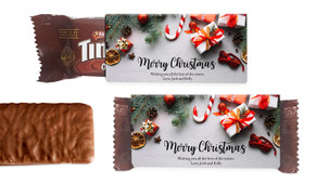 Christmas Background Individual TimTam TM (Box Of 150)