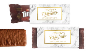 Marble And Gold Individual TimTam TM (Box Of 150)