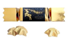Glowing Reindeer Personalised Christmas Bon Bon