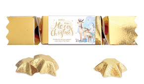 Deer Watercolour Personalised Christmas Bon Bon