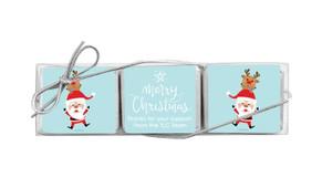 Piggy Back Mini Chocolate Christmas Trio Favour