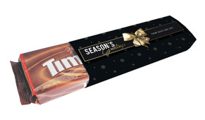 Glossy Gift Black Personalised Pack Of TimTams TM