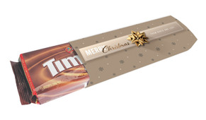 Glossy Gift Gold Personalised Pack Of TimTams TM