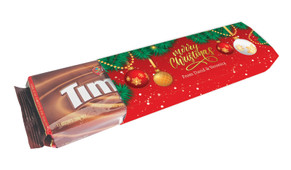 Red Festive Personalised Pack Of TimTams TM