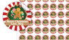 Gingerbread Man Personalised 25mm Labels