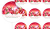 Gifts In The Snow Personalised 65mm Labels