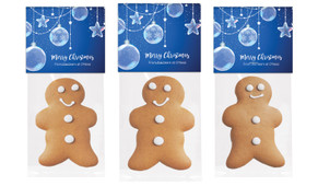 Crystal Baubles Gingerbread Man With Topper