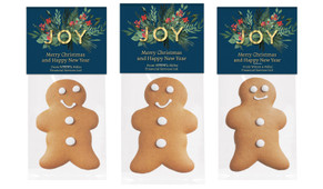 Joy Gingerbread Man With Topper