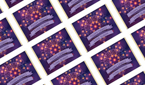 Lantern Mandala Personalised Diwali Mini Chocolates