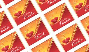 Radiant Diwali Personalised Mini Chocolates