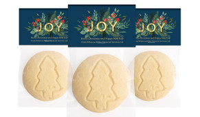 Joy Personalised Large Christmas Cookie