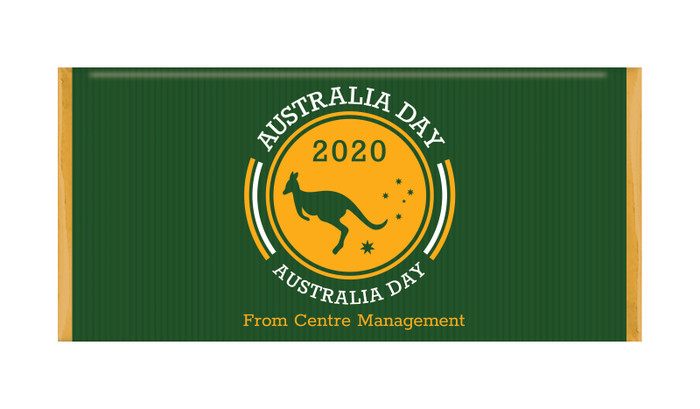 Emblem Australia Day Personalised Chocolates