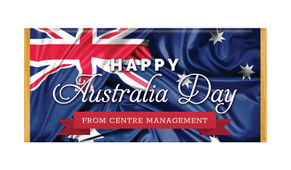 Australian Flag Australia Day Personalised Chocolates