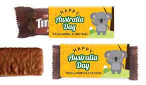 Cute Koala Australia Day Individual TimTam TM (Box Of 150)
