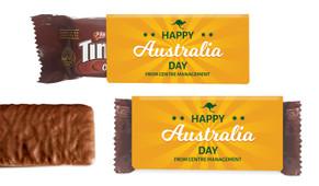 Green & Gold Australia Day Individual TimTam TM (Box Of 150)