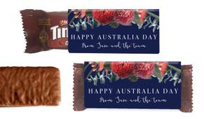 Native Flowers Australia Day Individual TimTam TM (Box Of 150)