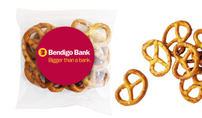 Personalised Bags Of Pretzels