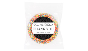 Timeless Damask Wedding Theme Personalised Giant Freckle