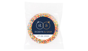 Diamond Ring Wedding Theme Personalised Giant Freckle