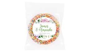 Hydrangea Wedding Theme Personalised Giant Freckle