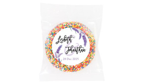 Lavender Wedding Theme Personalised Giant Freckle