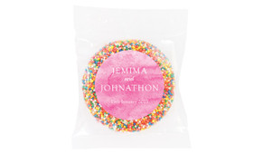 Pink Ombre Wedding Theme Personalised Giant Freckle
