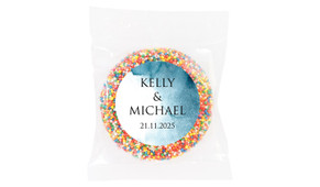 Blue Shade Wedding Theme Personalised Giant Freckle