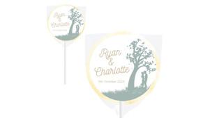Proposal Wedding Personalised Lollipops