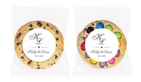 Initials Personalised Wedding Cookie