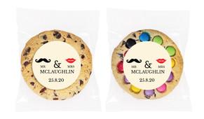 Mr & Mrs Personalised Wedding Cookie