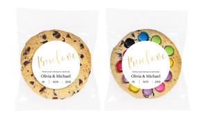 True Love Personalised Wedding Cookie