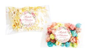 Classic Rose Border Personalised Popcorn Bag