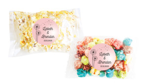 Floating Dandelion Personalised Popcorn Bag