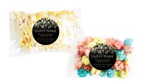 Gold Lights Personalised Popcorn Bag