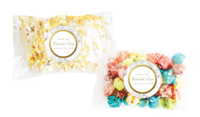 Marble & Gold Personalised Popcorn Bag