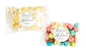 Misty Eucalypt Personalised Popcorn Bag