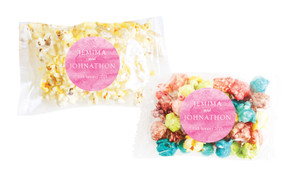 Pink Ombre Personalised Popcorn Bag