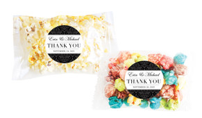 Timeless Damask Personalised Popcorn Bag